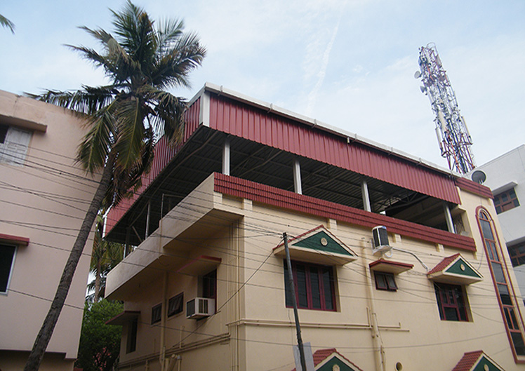 Roofing Works Amudha Decors